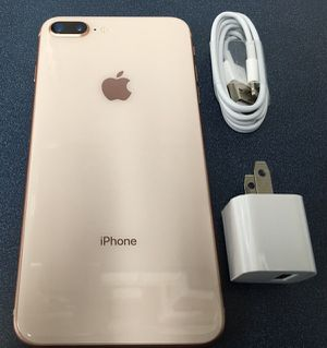 Unlocked iPhone 8 Plus 64GB Gold for Sale in Providence, RI