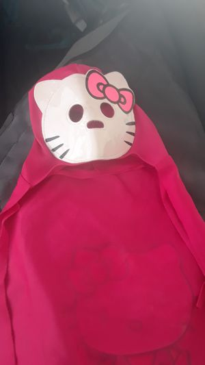 Hello kitty cape costume sz sm for Sale in Las Vegas, NV