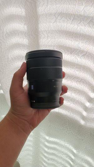 Sony Ziess Wide 16/35 lens for Sale in Aliso Viejo, CA
