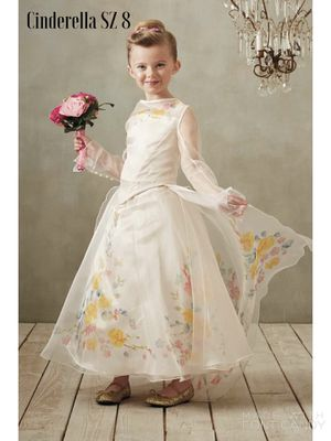 NEW CHASING FIREFLIES The Ultimate Collection Cinderella® Wedding Gown For Girls SZ 8 for Sale in Arlington, VA