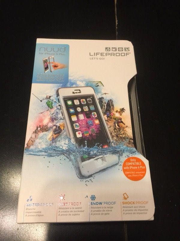 Iphone 6 plus lifeproof case