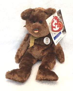 2002 FiFa ty beanie baby Germany 🇩🇪 ⚽️ 🐻 champion for Sale in Roswell, GA