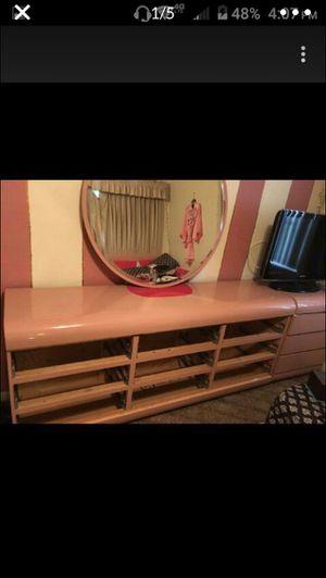 Queen Pink bedroom set for Sale in Spring Hill, FL