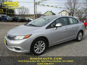 2012 Honda Civic Sdn for Sale in New Philadelphia, OH