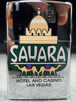 Zippo Sahara Dome Hotel And Casino Las Vegas NEW Lighter 1999 Camel Palace for Sale in San Fernando, CA