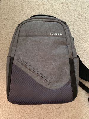 Anti theft laptop backpack for Sale in Plano, TX