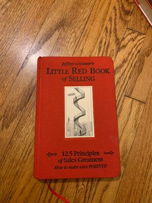 Jeffrey Gitomer little red book of selling for Sale in Inglewood, CA
