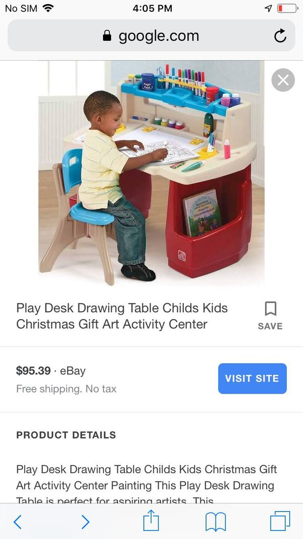 Kid's desk with chair
