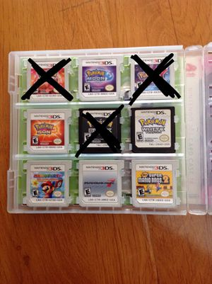 Nintendo 2ds 3ds games for Sale in Fontana, CA