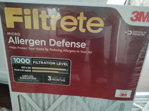 Four Filtrete Allergen Defense AC filters for Sale in Tuscaloosa, AL
