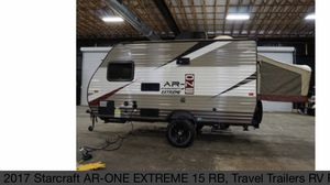 2017 Starcraft Travel Trailer 15rb for Sale in San Ramon, CA