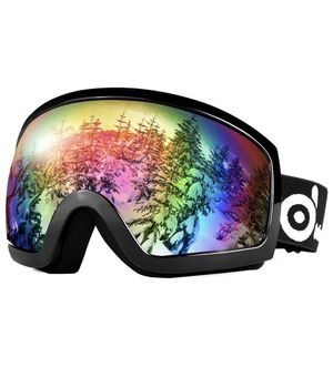 Double Lens Anti-Fog Windproof UV400 Eyewear for Adult and Youth-Skiing, Snowboarding, Motorcycle Cycling and Snowmobile Winter Outdoor Sports Protec for Sale in Corona, CA