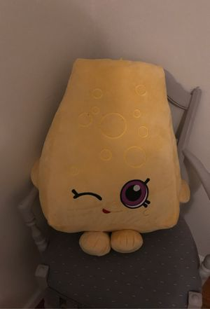 Plush cheese toy for Sale in Annandale, VA