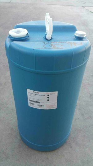 15 gallon heavy duty plastic drum no chemical $15 each for Sale in Rosemead, CA