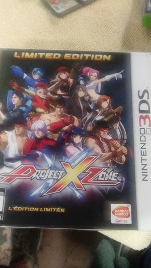 NINTENDO 3DS PROJECT X ZONE for Sale in Hesperia, CA
