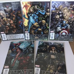 Ultimatum #1-5 Complete Story Lot - Key Issues - Rare for Sale in El Sobrante, CA
