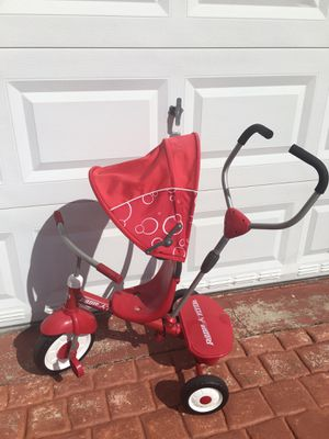"""Bike for toddler, red push and peddler, learning center """"Fisher"""" they all like new!! Only used for 3 wks while my granddaughter was here on vacation for Sale in Surfside, FL"""