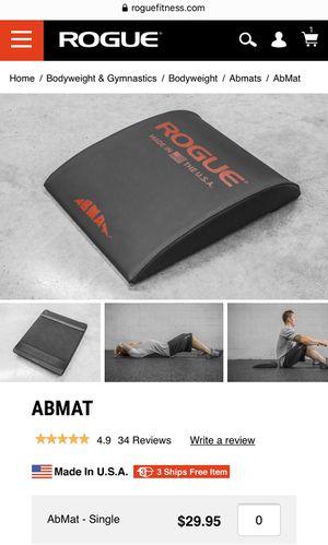 Rogue Fitness   AbMat   CrossFit for Sale in Oak Ridge, NC