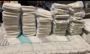 Newborn and Size 2 Diapers for Sale in Houston, TX