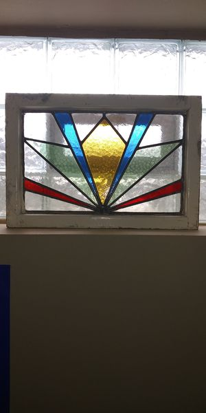 Antique stained glass window for Sale in Grove City, OH