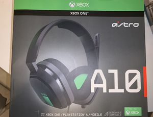 Xbox One Astro A10 Headphones for Sale in Woonsocket, RI