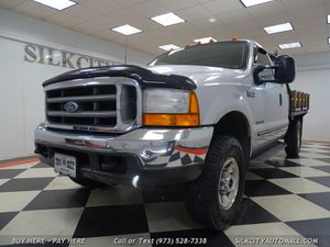 2000 Ford F-250 SD XLT 7.3 DIESEL Flatbed 4x4 Flat Bed for Sale in Paterson, NJ