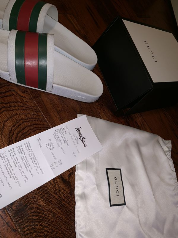 GUCCI SANDALS size 7.5 MEN / size 9 WOMEN