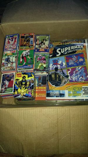 Baseball cards football cards and x men comic plus random items for Sale in Fresno, CA