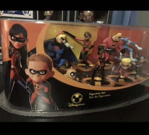 New Disney Incredibles Figures From 2004 for Sale in Monterey Park, CA