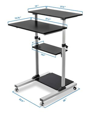 Mount- It Stand Up Mobile WorkStation for Sale in Dublin, OH