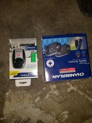 Safety sensor and garage door opener for Sale in Vallejo, CA