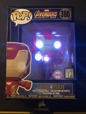 Funko Pop! Iron Man #380 Avengers Infinity War Walgreens Exclusive (Lights Up) for Sale in Whittier, CA