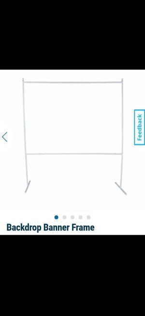 Backdrop Banner Frame for Sale in Miami, FL