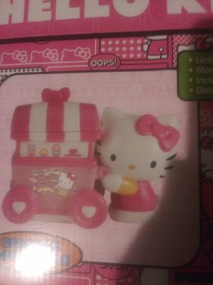Limited Edition Hello Kitty Ice Cream Cart Ceramic Cookie Jar for Sale in Pico Rivera, CA