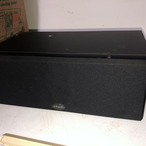 Polk Audio Center Channel Speaker for Sale in Sarasota, FL