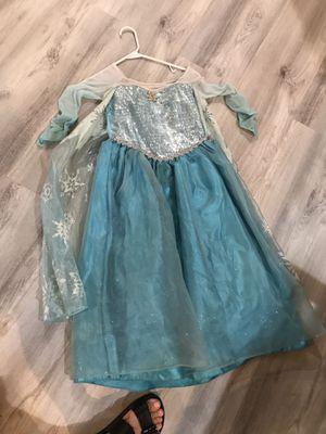 Girls Elsa costume Halloween for Sale in Chandler, AZ