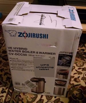 Hybrid Vaccum Water Boiler, Heater And Warmer, 4-Liter (1 Gal), Stainless Steel (Sealed box) for Sale in San Diego, CA