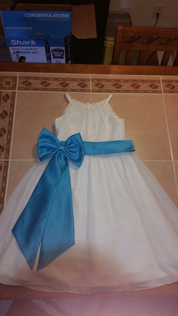 Davids Bridal flower girl dress