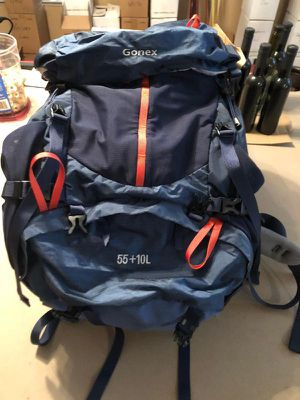 Gonex 55+10L Hiking Internal Frame Backpack for Sale in Rancho Cucamonga, CA