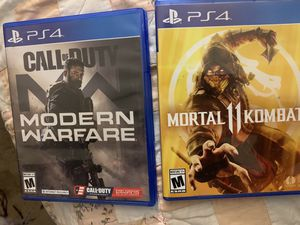 4 ps4 games available for Sale in Berwyn Heights, MD