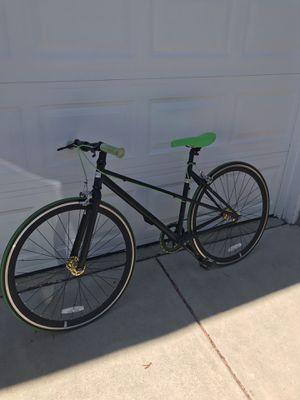 Fixie Bike (Black & Lime Green) for Sale in Eden Prairie, MN