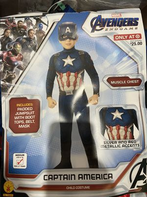 Captain America Costume for Sale in Corona, CA