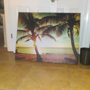 3 X 2 And Half Canvas Print Great Condition for Sale in Spring Hill, FL
