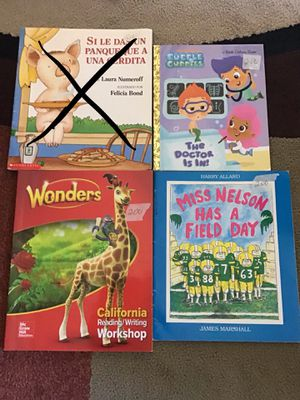 Books each 2 dollars for Sale in Salinas, CA