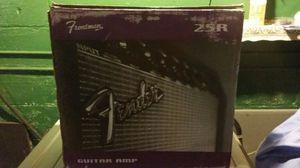 Amplifier fender guitar .model 25r for Sale in Cleveland, OH