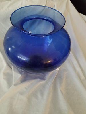 """Huge cobalt blue vase 10"""" tall for Sale in Hampden, ME"""
