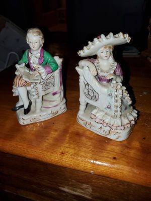 Bone china vintage/antique figurines from different makers for Sale in Pennsville, NJ