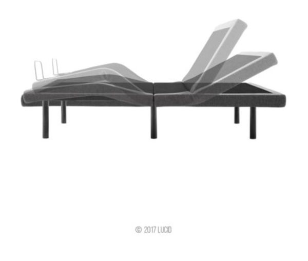 NEW: Lucid L300 Adjustable Bed Base with Dual USB Charging Ports. Selling Frame Only Not Mattress.