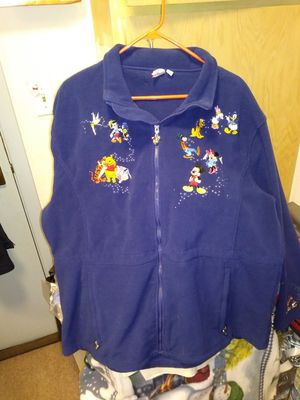 Collectible Disney fleece jacket. Includes, all Disney chracters from major disney movies. for Sale in Seattle, WA