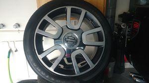 Harley Davidson f-150 rims firestone tires for Sale in Bluffdale, UT
